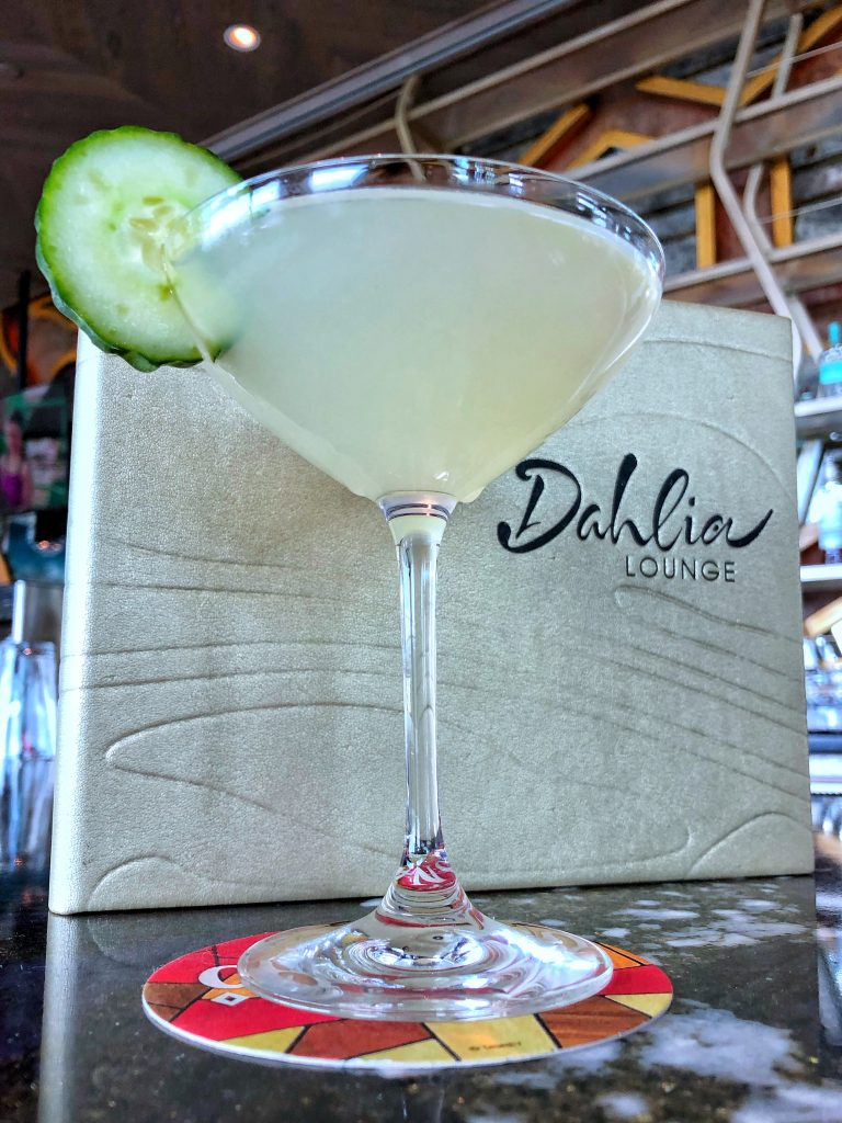 What's Vegan at the Dahlia Lounge at Disney's Coronado Springs Gran Destino Tower