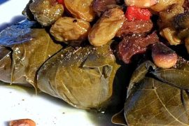 Vegan at Walt Disney World - Epcot's Spice Road Table Rice Stuffed Grape Leaves