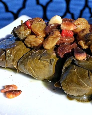 Vegan at Walt Disney World - Epcot's Spice Road Table Rice Stuffed Grape Leaves
