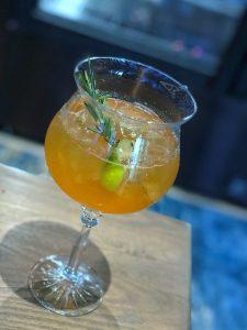 Vegan Disney Food Review: Toledo at Coronado Springs Gran Destino - The Gran Gin Tonic