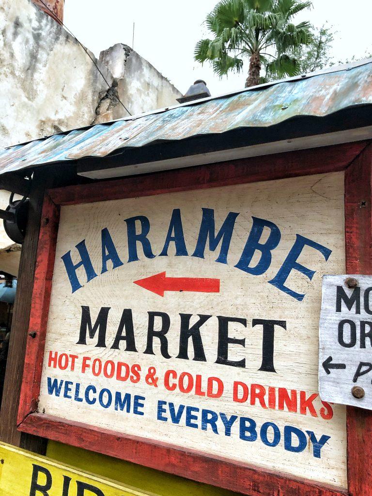 What's Vegan at Circle of Flavors: Harambe at Night in Animal Kingdom?