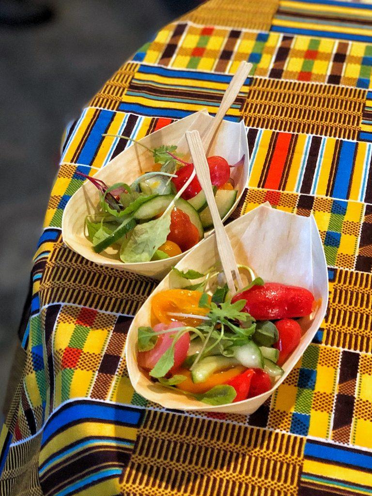 What's Vegan at Circle of Flavors: Harambe at Night in Animal Kingdom? - Kachumbari Salad