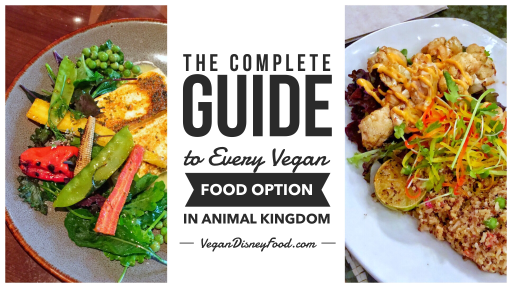What's Vegan in Disney's Animal Kingdom? - The Complete Guide to Every Vegan Food Option in the Animal Kingdom theme park