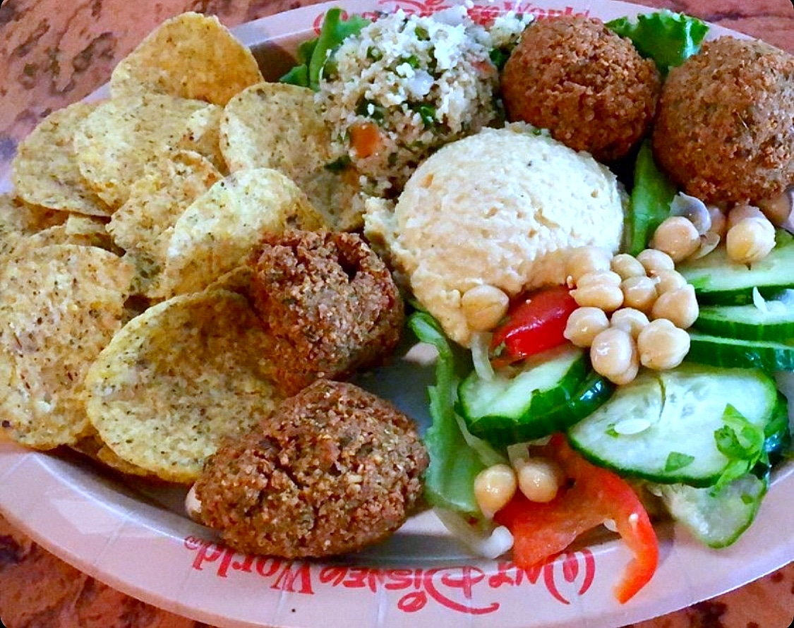 Vegan Falafel Platter from The Mara at Disney's Animal Kingdom Lodge