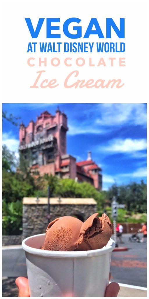 Vegan at Walt Disney World - Vegan Ice Cream in Disney's Hollywood Studios