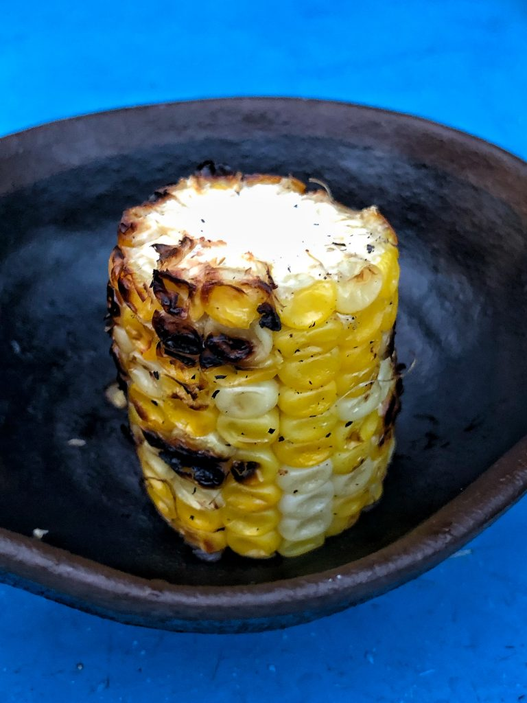 What's Vegan at Circle of Flavors: Harambe at Night in Animal Kingdom? - Grilled Sweet Corn