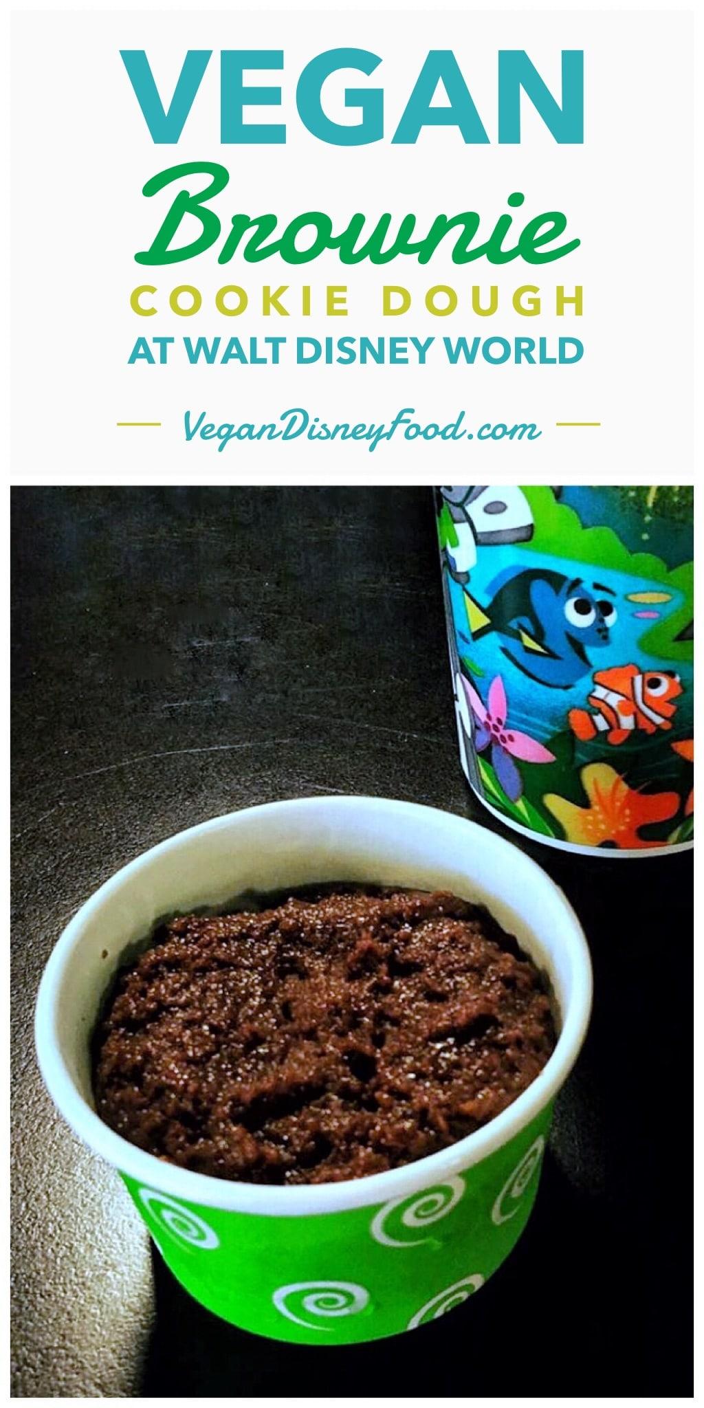 Vegan Brownie Cookie Dough at All Star Sports in Walt Disney World