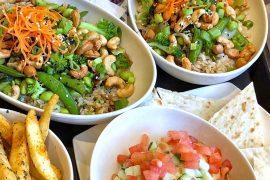 Vegan at Walt Disney World - Teriyaki Vegetable Bowl at ABC Commissary In Disney's Hollywood Studios