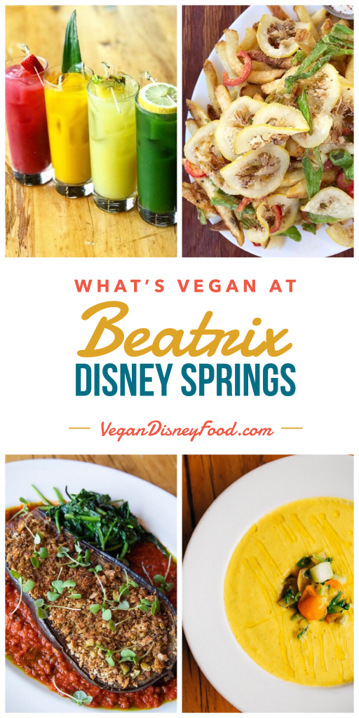 What's Vegan at Beatrix in Disney Springs at Walt Disney World?
