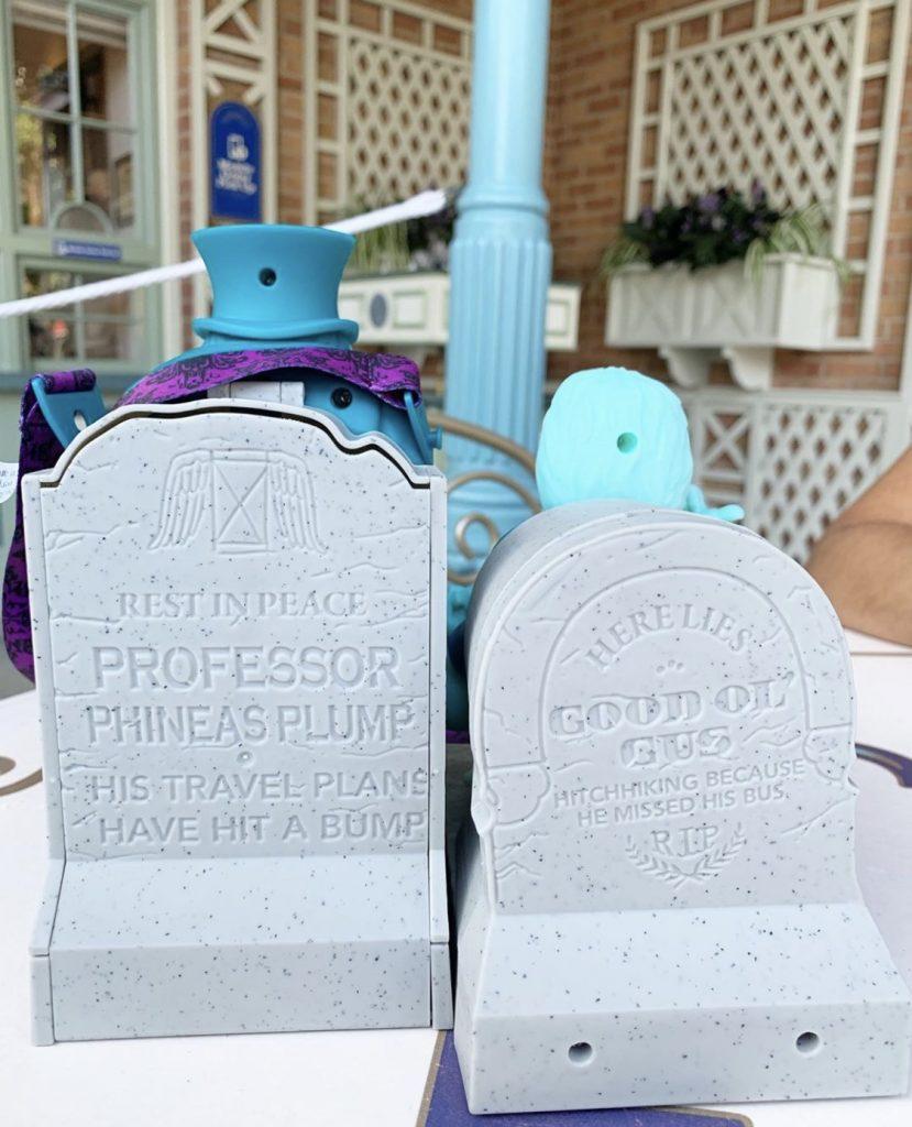 Vegan at Disneyland - Haunted Mansion Hitchhiking Ghost Popcorn Bucket