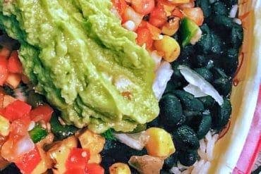Vegan Veggie Rice Bowl at Pecos Bill Tall Tale Inn and Cafe in the Magic Kingdom
