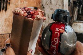 Vegan at Star Wars Galaxy's Edge - Kat Saka's Kettle Outpost Mix Popcorn