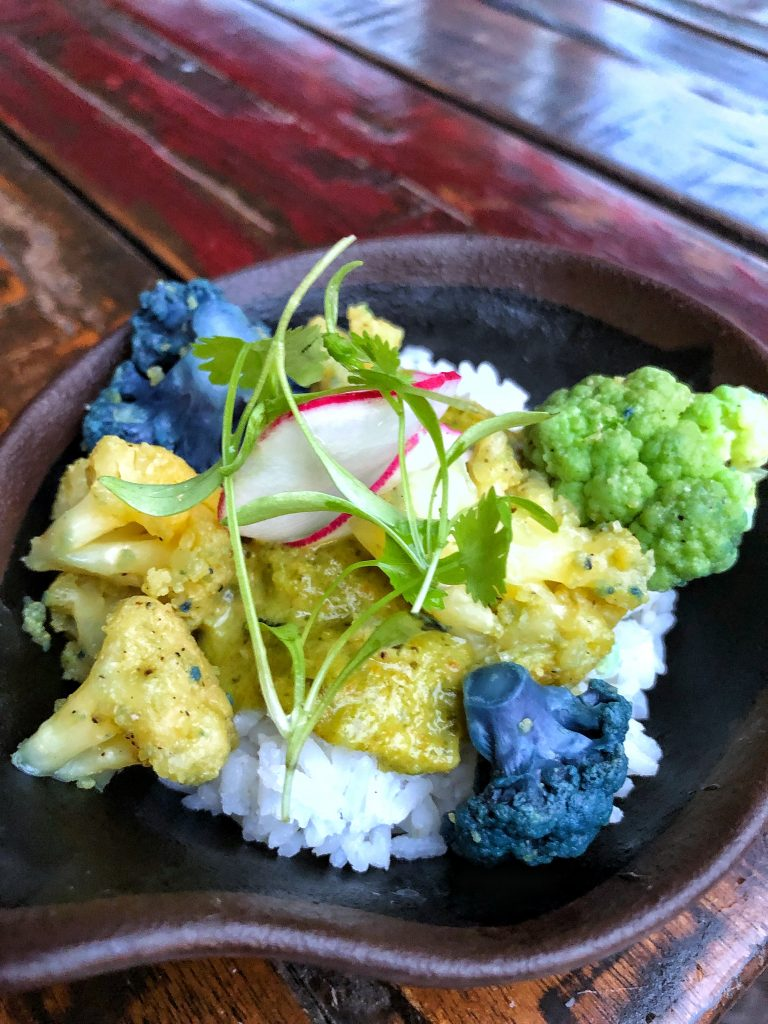 What's Vegan at Circle of Flavors: Harambe at Night in Animal Kingdom? - Cape Malay Curry