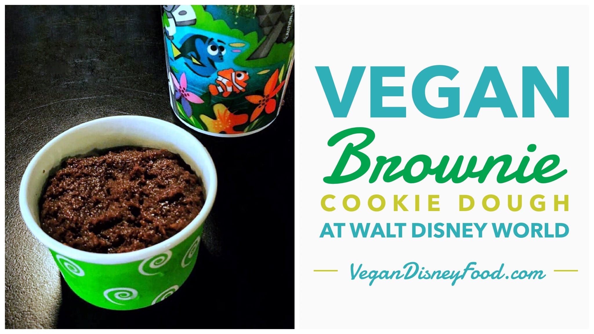 Vegan Brownie Cookie Dough at All Star Sports in Walt Disney World
