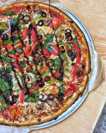 Vegan at Walt Disney World - Vegan Pizza from Blaze Pizza in Disney Springs