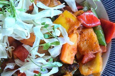 Vegan at Walt Disney World - Caribbean Vegetable Curry at Sebastian's Bistro