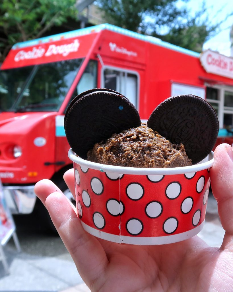 What's Vegan at the Cookie Dough and Everything Sweet Food Truck in Disney Springs