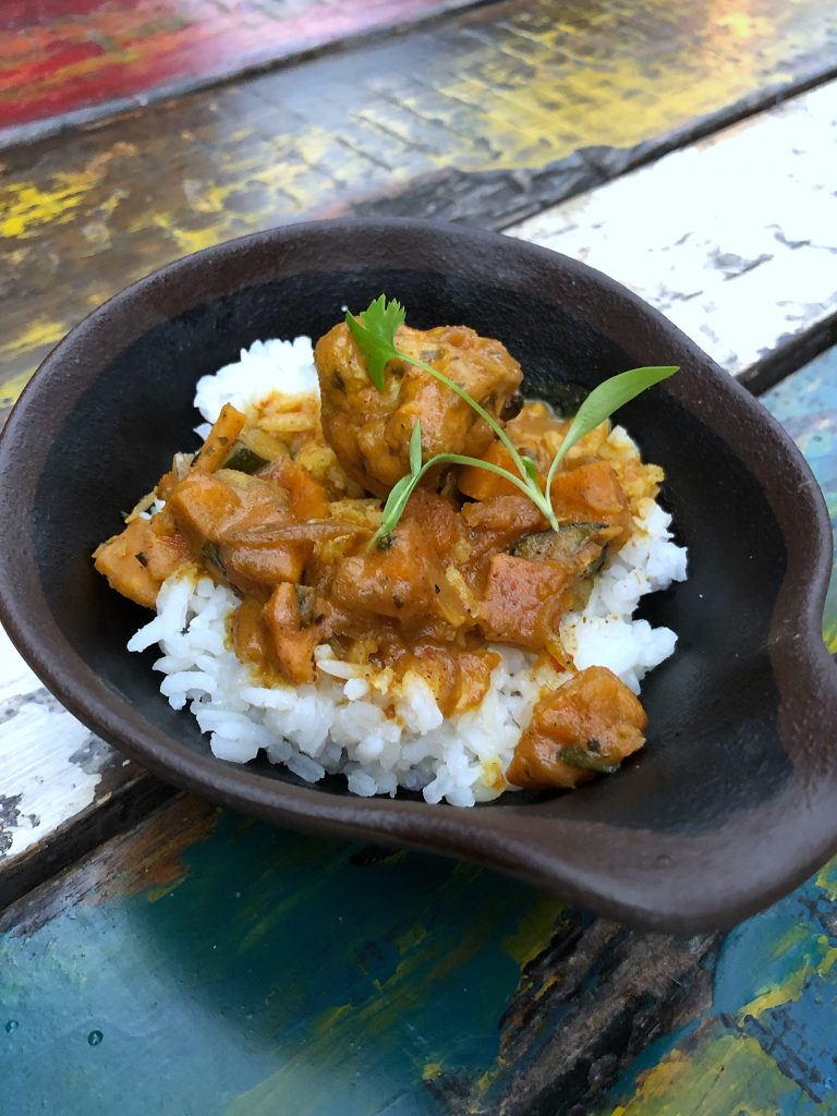 What's Vegan at Circle of Flavors: Harambe at Night in Animal Kingdom? - Vegetable Curry