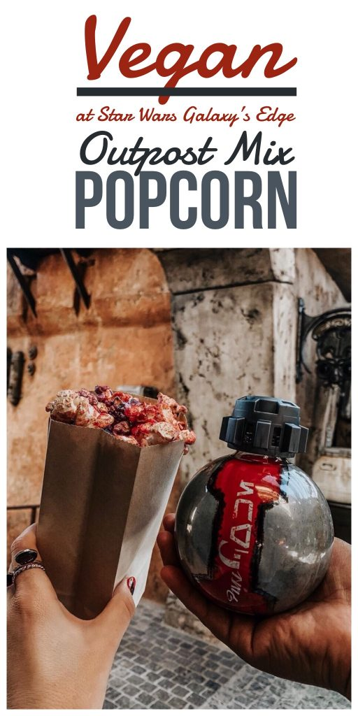 Vegan at Star Wars Galaxy's Edge - Kat Saka's Kettle Outpost Mix Popcorn