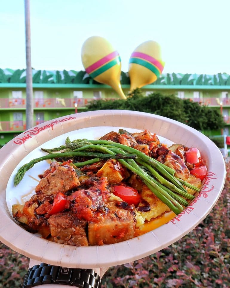 Vegan Ratatouille at All Star Music Resort in Walt Disney World