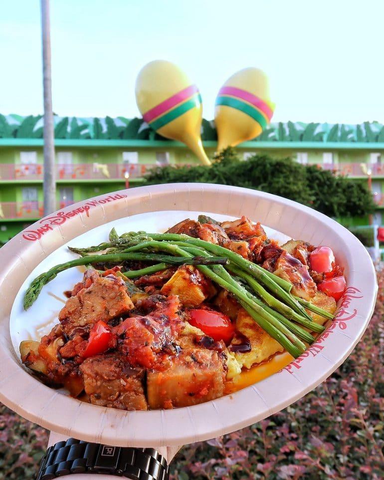 Vegan Ratatouille at All Star Music Resort in Walt Disney World