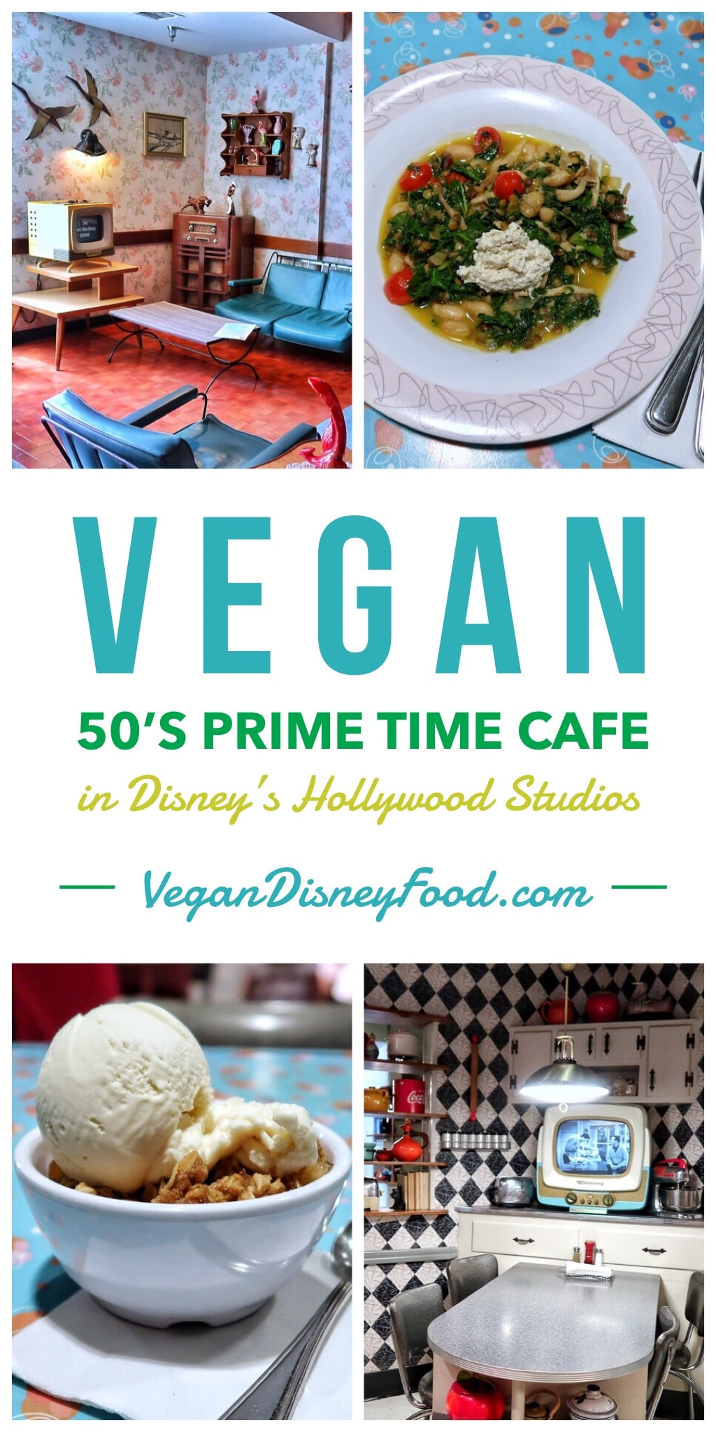 Vegan Options at 50's Prime Time Cafe in Disney's Hollywood Studios at Walt Disney World