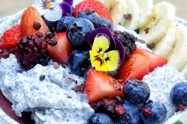 Vegan Chia Breakfast Bowl at Tangaroa Terrace in the Disneyland Hotel