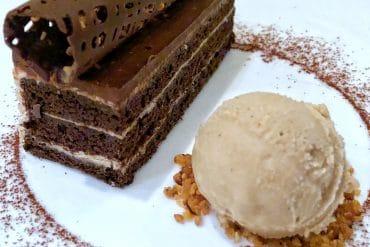 Vegan Chocolate Hazelnut Bar at Citricos in Disney's Grand Floridian Resort at Walt Disney World