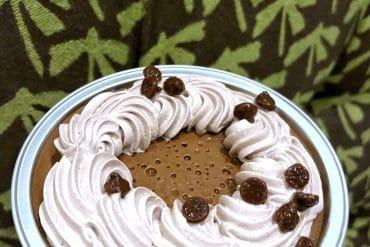 Vegan Chocolate Coconut Pot de Creme Dessert at Disney's Grand Floridian Resort at Walt Disney World