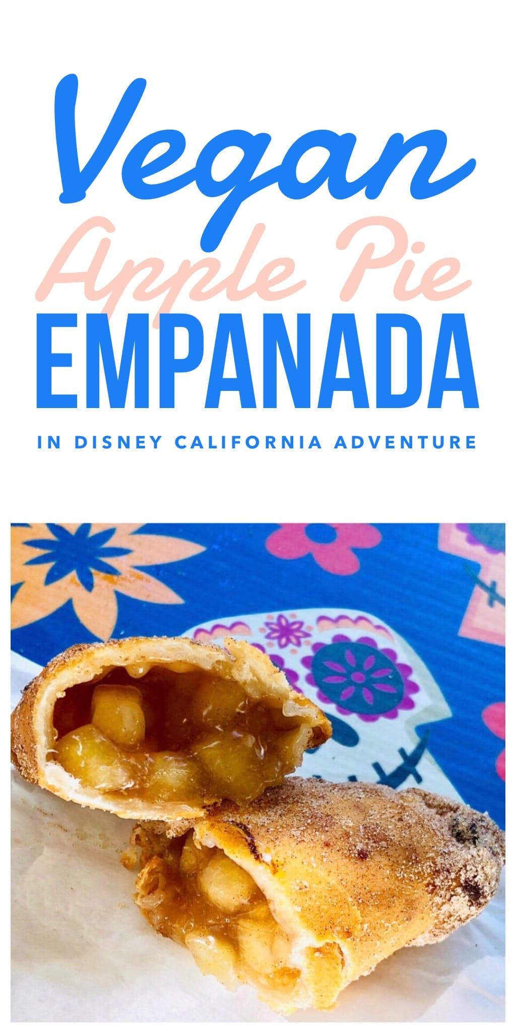 Vegan Apple Pie Empanada in Disney California Adventure at the Disneyland Resort