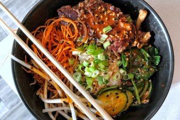 Vegan Orlando Magical Dining Review at Zeta Asia in the Hilton Bonnet Creek at Walt Disney World