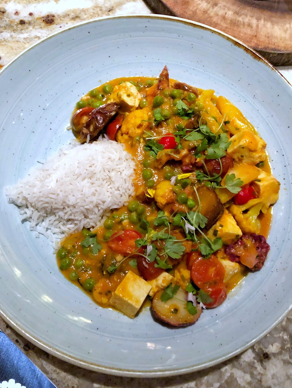 Vegan Dinner Review of Jiko at Animal Kingdom Lodge in Walt Disney World