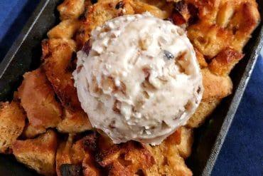 Vegan Southern Comfort Bread Pudding at Narcoossee's in Disney's Grand Floridian Resort at Walt Disney World