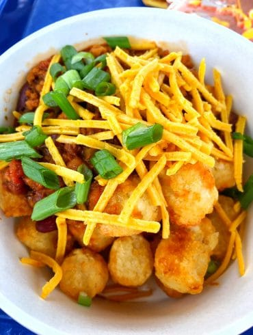 Vegan Totchos at Woody's Lunch Box in Toy Story Land at Disney's Hollywood Studios