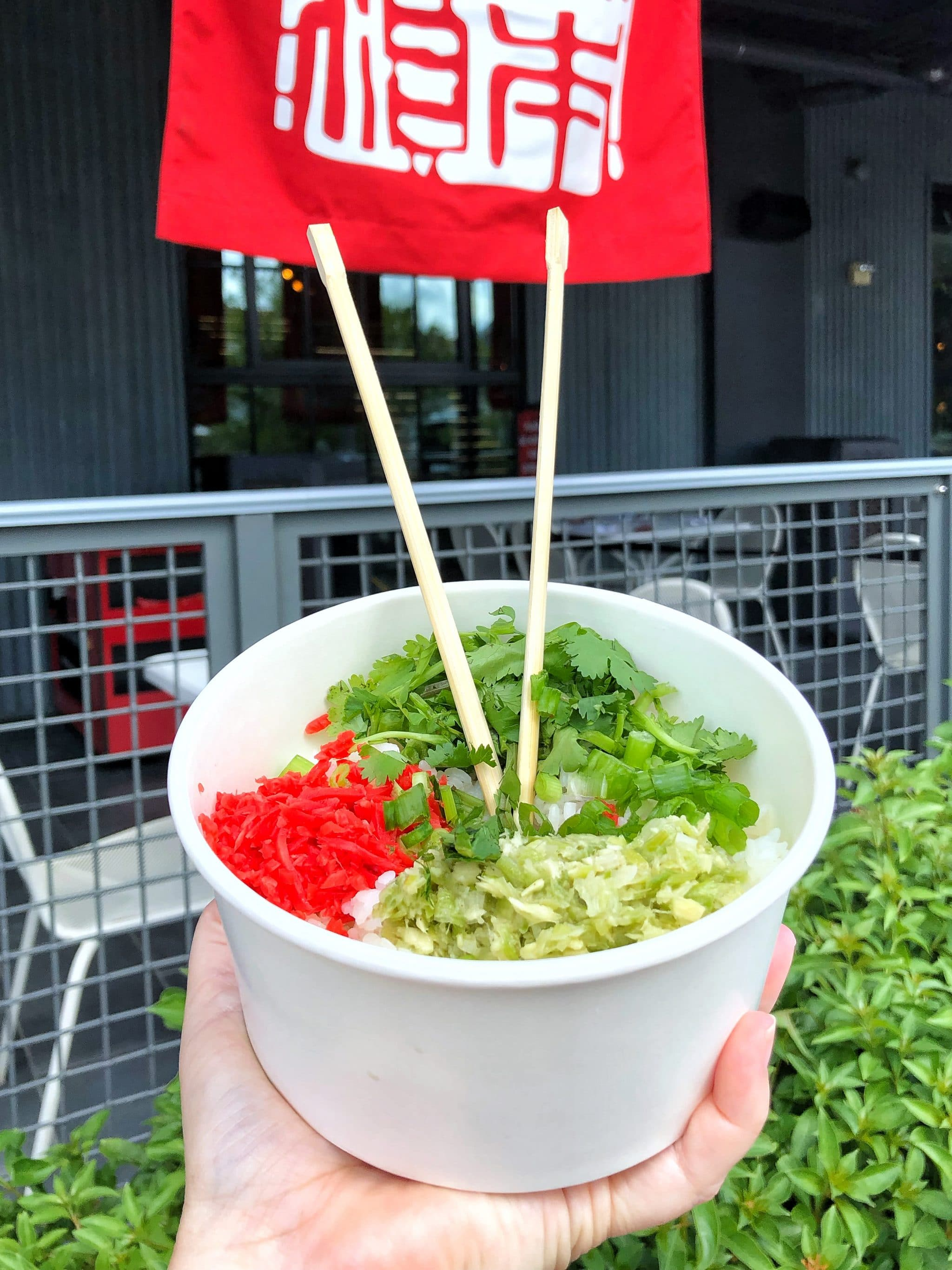 Vegan Options At Morimoto Asia Street Food In Disney Springs