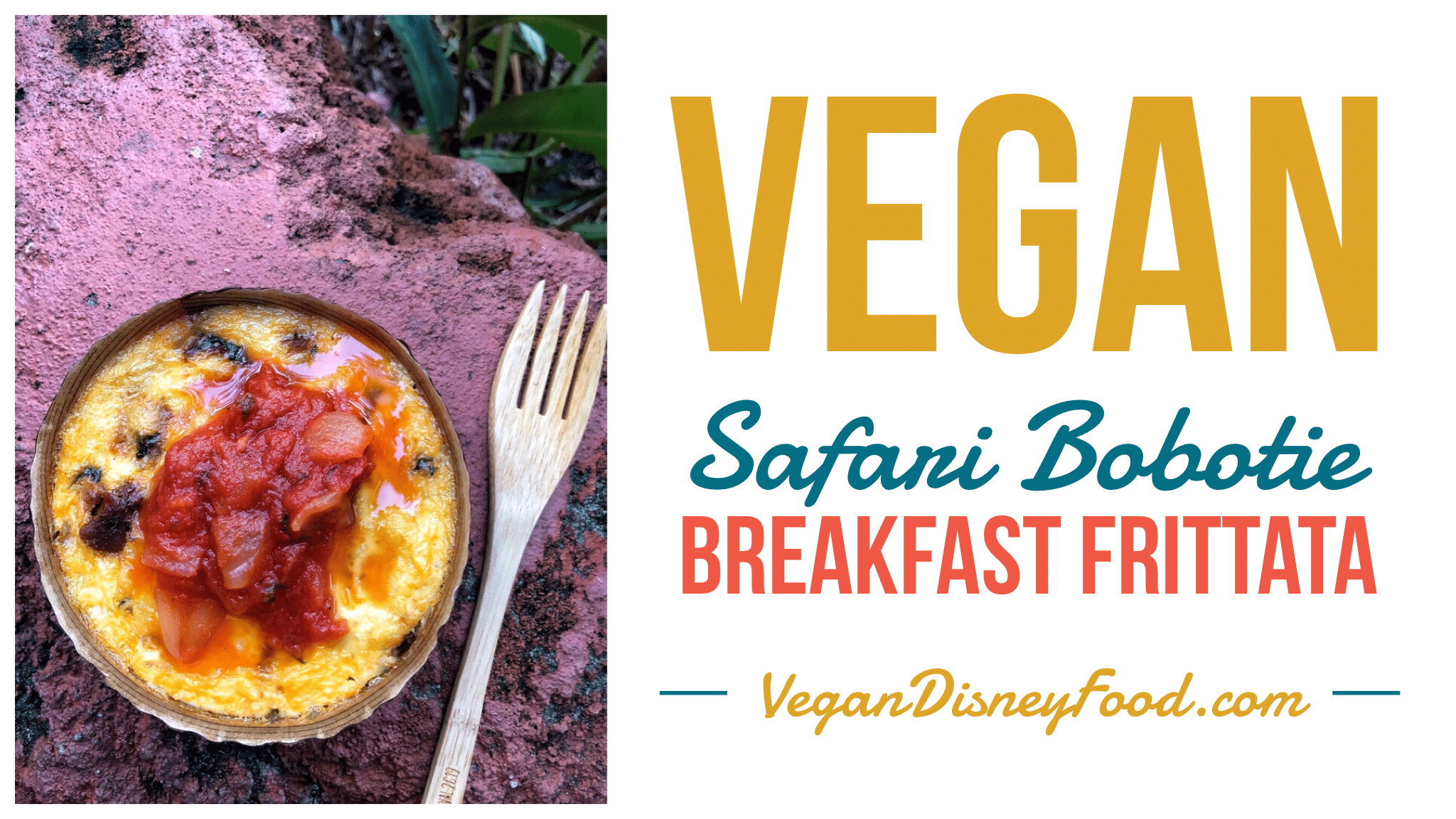 Vegan Safari Bobotie Breakfast at The Mara in Animal Kingdom Lodge at Walt Disney World