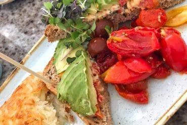 Vegan Avocado Toast at the Grand Floridian Cafe in Walt Disney World