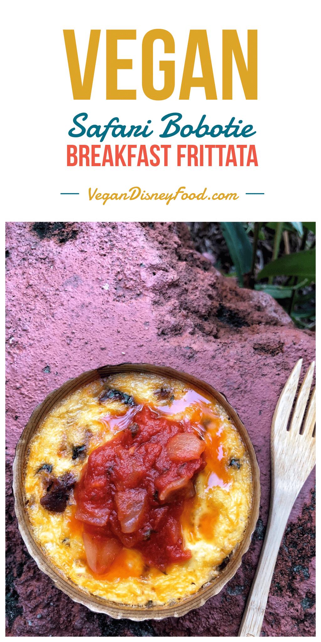 Vegan Safari Bobotie Breakfast at The Mara in Animal Kingdom Lodge at Walt Disney World