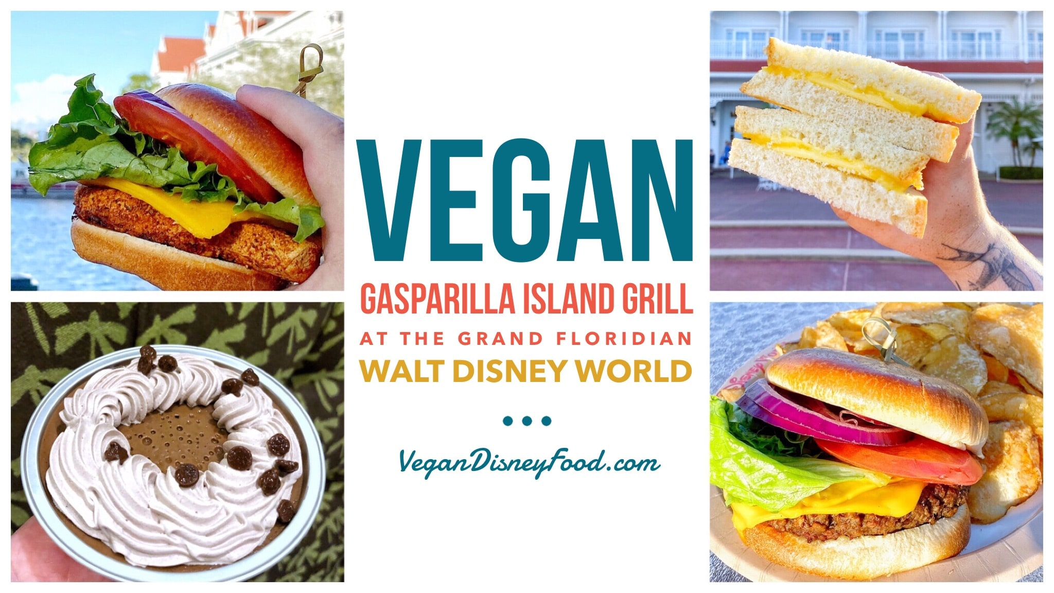 Vegan Options at Gasparilla Island Grill in Disney's Grand Floridian Resort at Walt Disney World