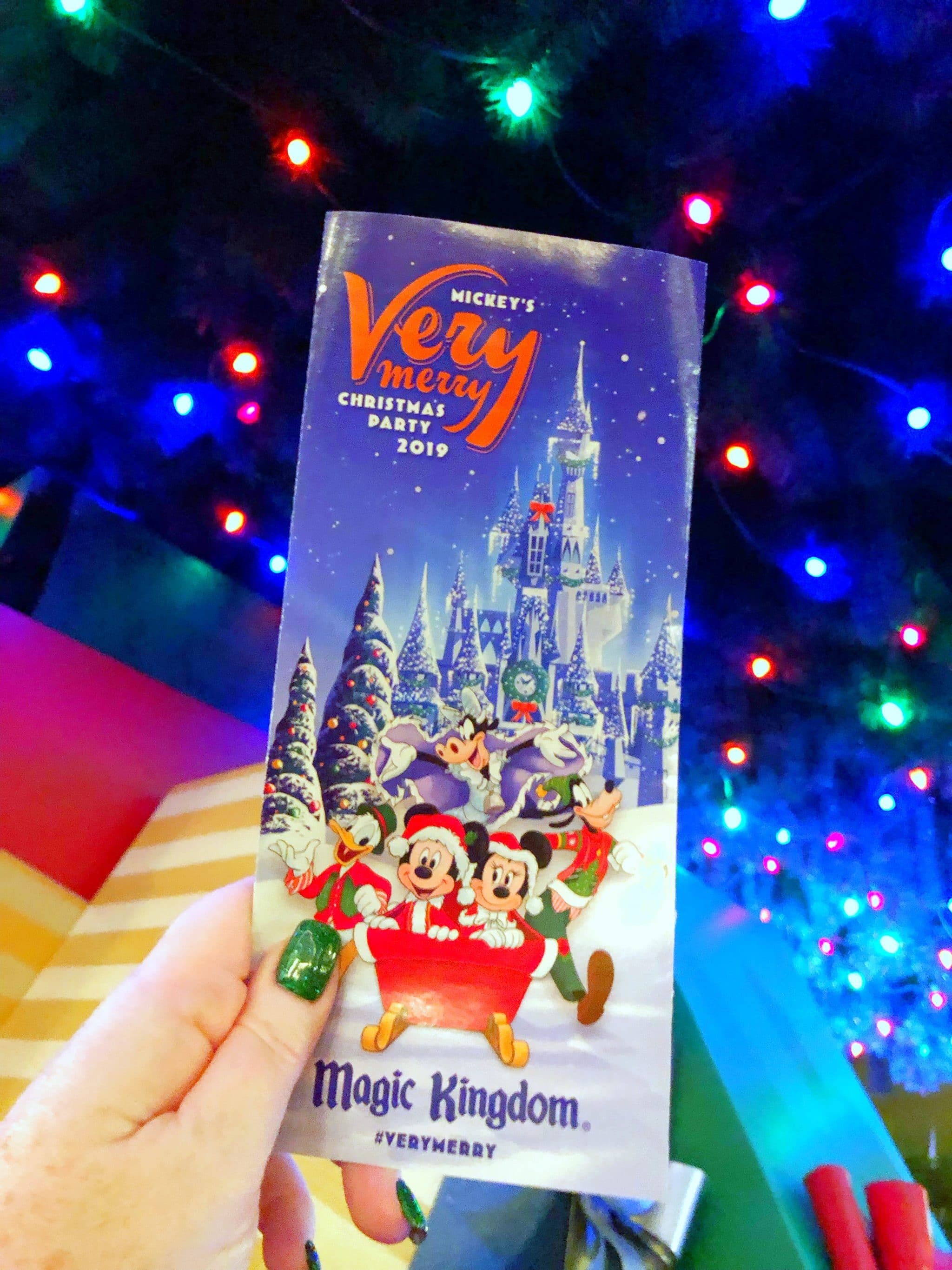 Vegan Guide to Mickey's Very Merry Christmas Party in the Magic Kingdom at Walt Disney World