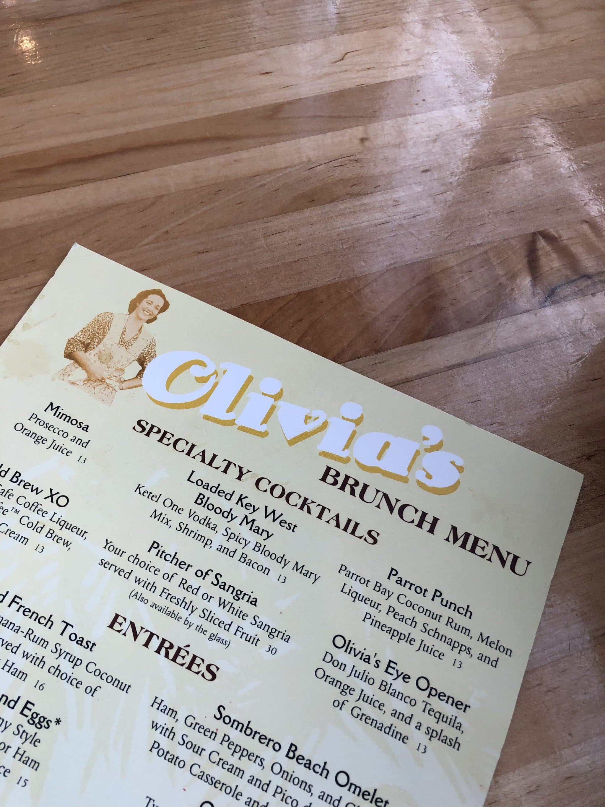 Vegan Brunch at Olivia's Cafe in Disney's Old Key West Resort at Walt Disney World