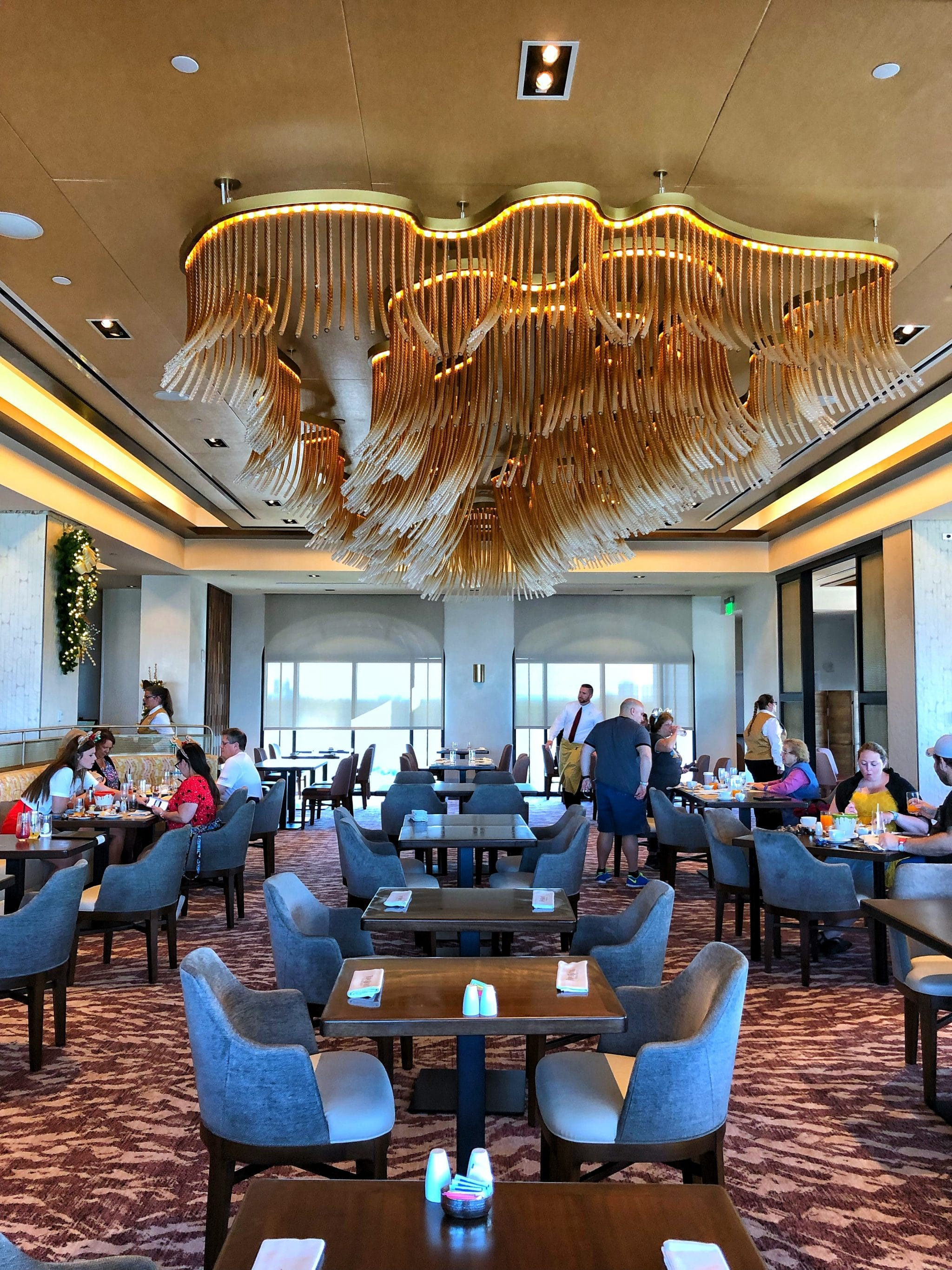 Topolino's Terrace Vegan Dinner Review at Disney's Riviera Resort in Walt Disney World