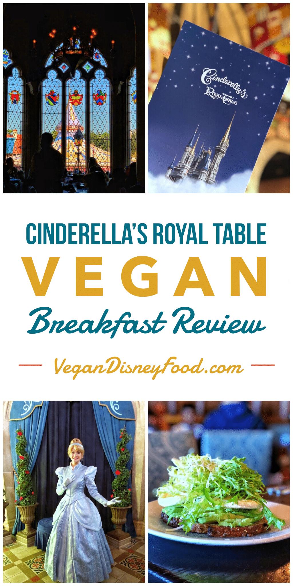 Cinderella's Royal Table Vegan Breakfast Review in the Magic Kingdom at Walt Disney World