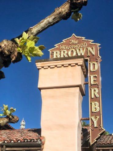 Vegan Options at The Hollywood Brown Derby in Disney's Hollywood Studios at Walt Disney World