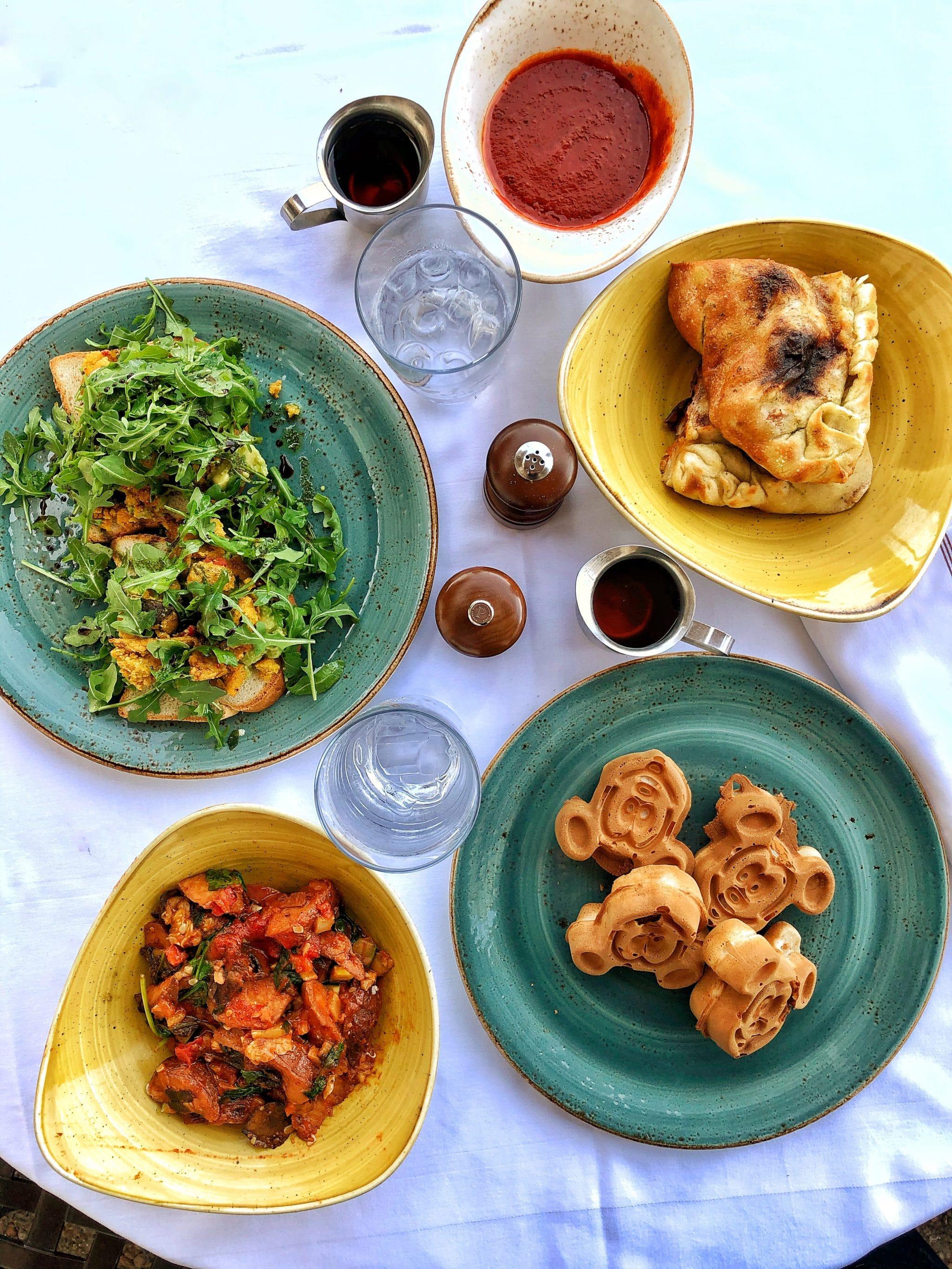 Vegan Breakfast Review at Trattoria al Forno on the Disney Boardwalk at Walt Disney World