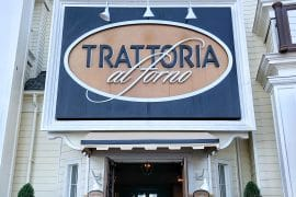 Vegan Breakfast Review at Trattoria al Forno on the Disney Boardwalk at Walt Disney World