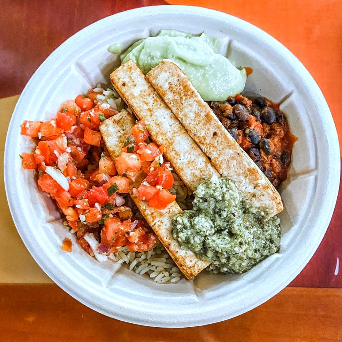 Contempo Cafe Vegan Grilled Tofu Bowl in Disney's Contemporary Resort at Walt Disney World