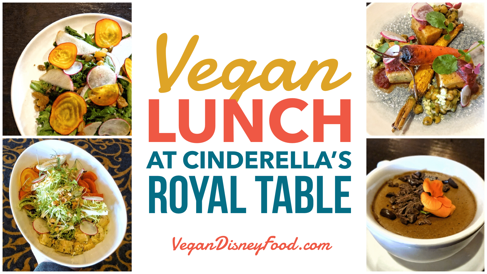 Cinderella's Royal Table Vegan Lunch Review in the Magic Kingdom at Walt Disney World