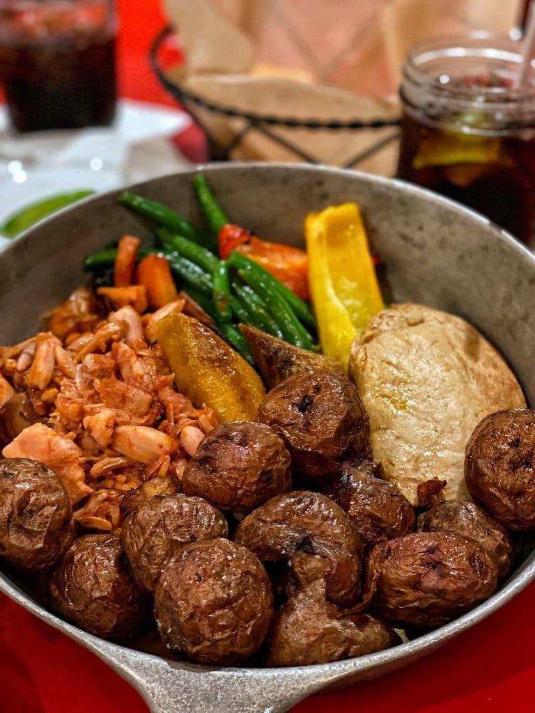 Vegan Food Review: Whispering Canyon Cafe in Disney's Wilderness Lodge at Walt Disney World