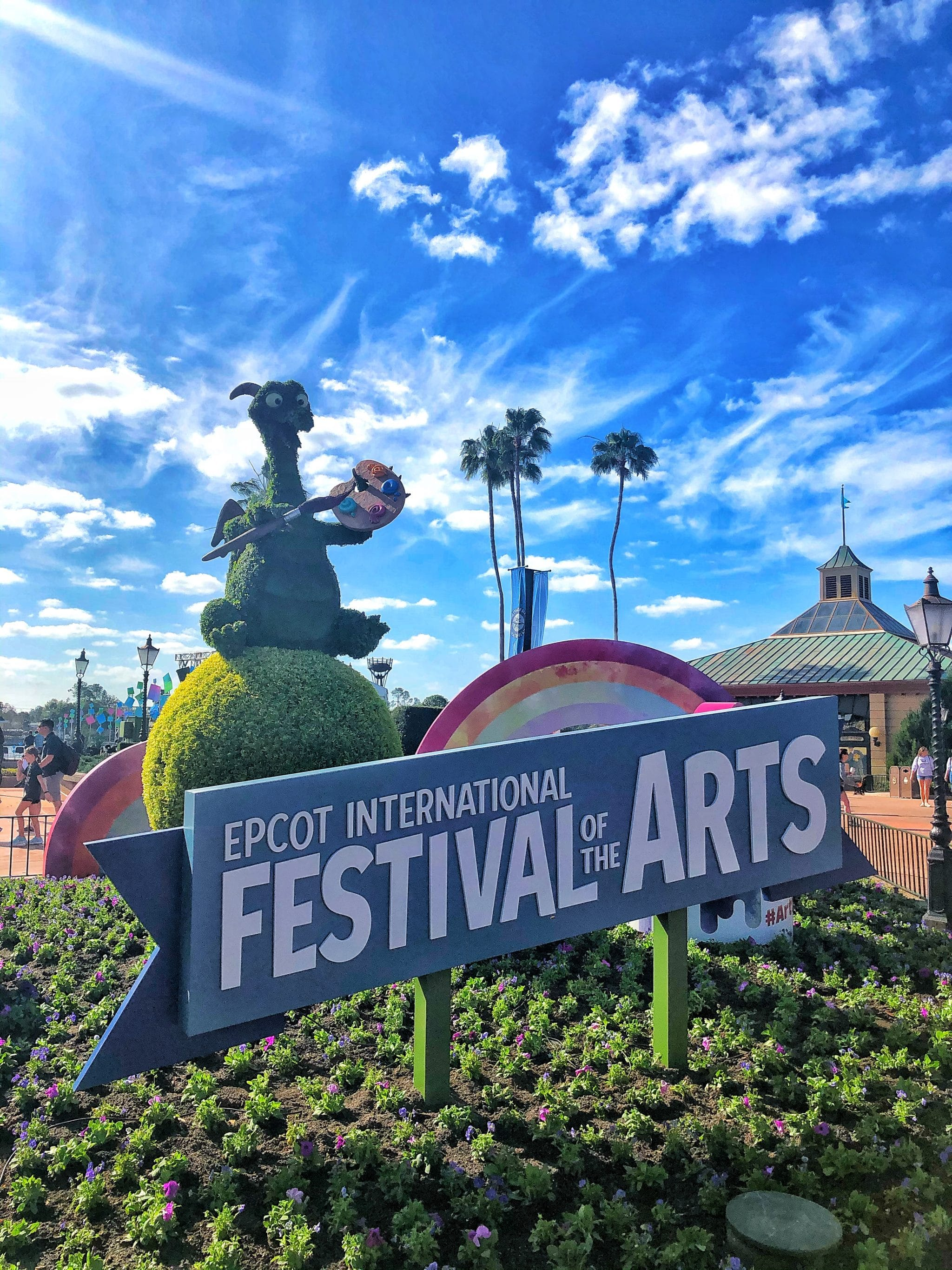 2020 Epcot International Festival of the Arts Vegan Food Guide